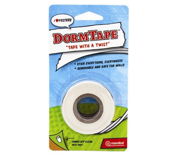 Dorm Tape Blister Pack College Dorm Decor Products Dorm Room