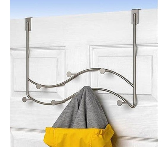 Sweep 7 Hook Over The Door Coat Hanger
