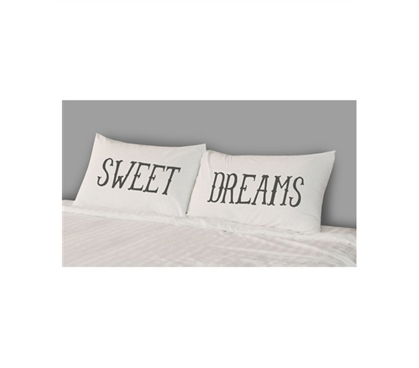 Designer Pillowcase - College Pillowcases - Sweet Dreams (Set of 2) - Cool College Product