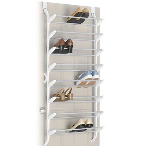 24 Pair Shoe Rack Non Slip Over The Door Cheap Closet Organizer