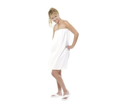College Women Bathroom Comfort - Terry Spa Cover - For Her