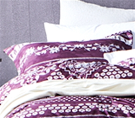 Mulberry Lilac Sham Dorm Essentials Dorm Room Decorations