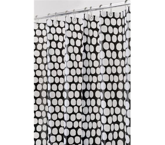 Honeycomb Shower Curtain - Black