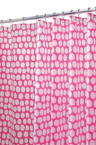 Honeycomb Shower Curtain - Fuchsia Cool College Item Colorful Dorm ...
