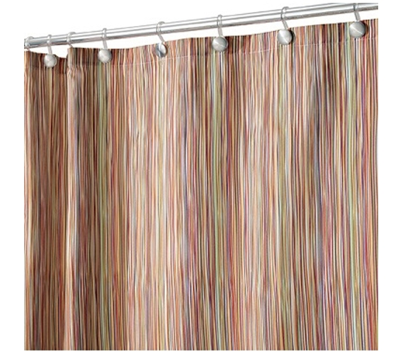 Colorful Sketch Shower Curtain Dorm Room Supplies Fun College Decor ...