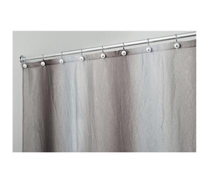 Start Fresh - Ombre Print Shower Curtain Granite-Brown - Necessary For Dorm Bathrooms