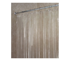Must Have For College - Vinyl Shower Curtain Or Liner - Keeps Floors Dry