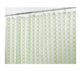 Gentle Color - Green Retro Shower Curtain Set - Must Have For Dorm Bathroom