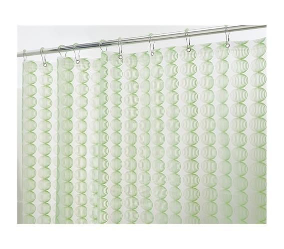 Green Retro Shower Curtain Set College Stuff Cheap