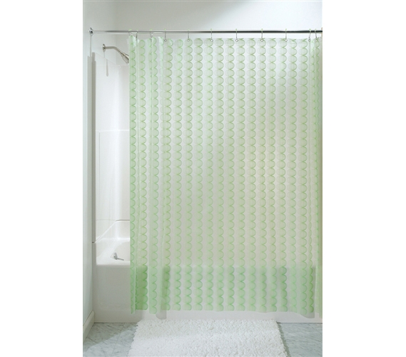 Green Retro Shower Curtain Set College Stuff Cheap
