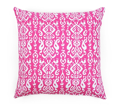 Ikat Dorm Throw Pillow Cover