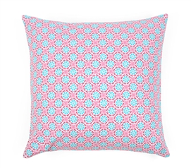 Lulu Pink Dorm Throw Pillow Cover