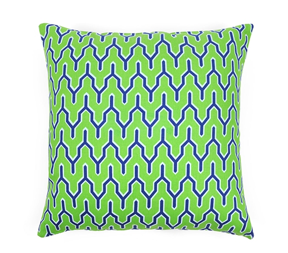 Parker Green Dorm Throw Pillow Cover