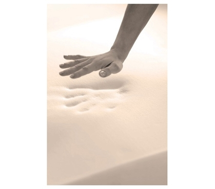 "2"" Memory Foam Full Topper"