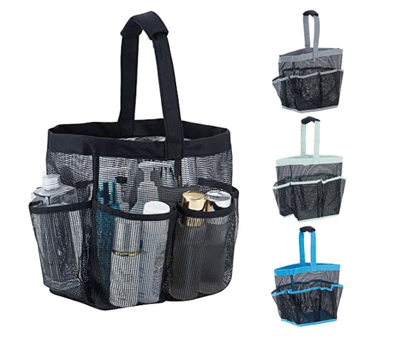 Deluxe Mesh Shower Tote Tusk College Storage