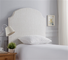 Classic Twin XL DIY Headboard for Dorm Bedding DIY Beveled Corner Curve College Headboard