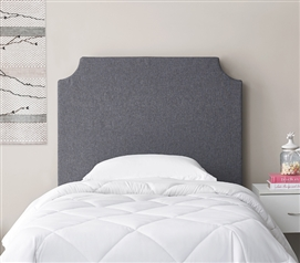 DIY Headboard - Dark Gray