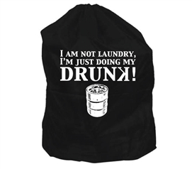 Dorm Essentials - Dorm Laundry Bag - Drunk - Cool Dorm Stuff