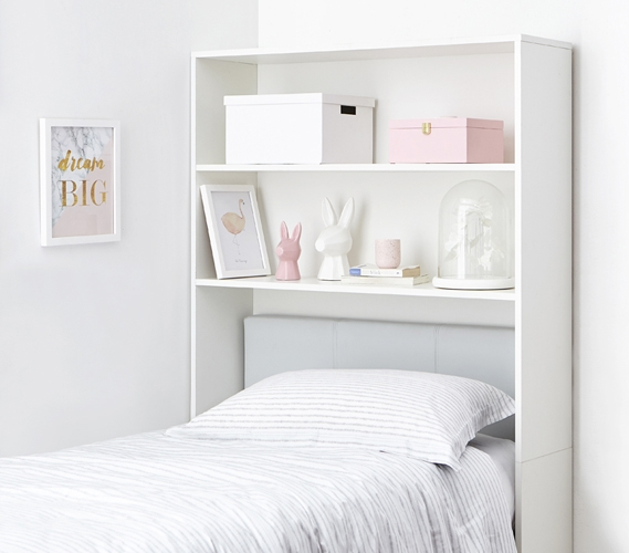 Decorative Dorm Bed Shelf