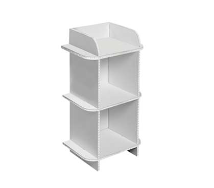 Organize Your College Supplies -Deco Dorm Storage Shelf - 2 Bin