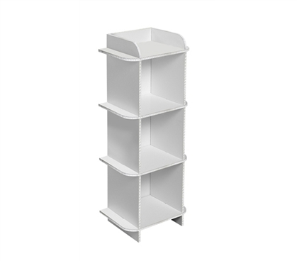 Increase Your Dorm Storage Space -Deco Dorm Storage Shelf - 3 Bin
