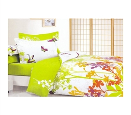 Tropics - College Twin XL Comforter & Sham - Twin Extra Long College Comforter