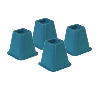 Colored Bed Risers Blue Products For Dorms Cool College