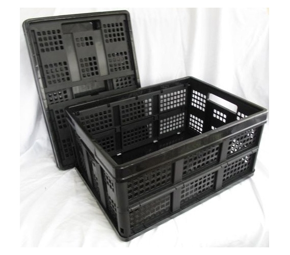 Black Collapsible Stack Bins College Organizers Bins