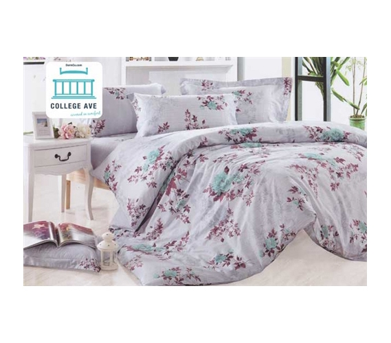 twin xl comforter set college ave dorm bedding pure cotton comforter and sham