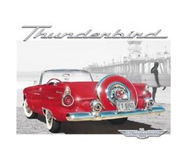 Best Decor For College - Thunderbird Tin Sign - Dorm Decorations