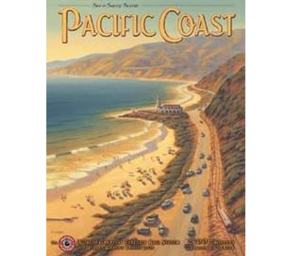 Buy Dorm Products - Pacific Coast Tin Sign - Dorm Room Supplies