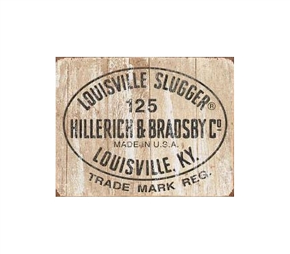 Shop For Your Dorm - Louisville Slugger Tin Sign - Must Haves For College