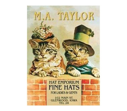 Buy Dorm Products - M.A. Taylor Tin Sign - Best Stuff For Dorms