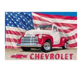 Vintage Tin Signs - American Vintage Pickup Tin Sign - Decorate Your Dorm