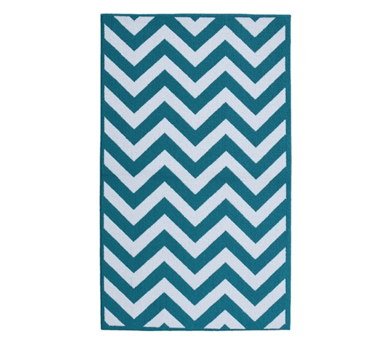 Amazing Fun Dorm Rugs   Chevron College Rug   Teal And White