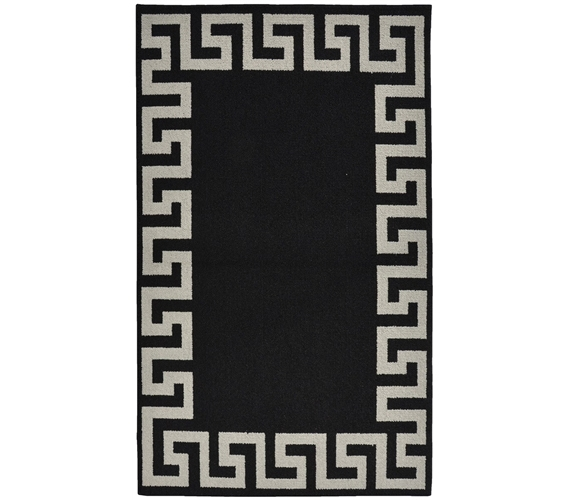 Black And White Greek Key Rug Rugs Ideas