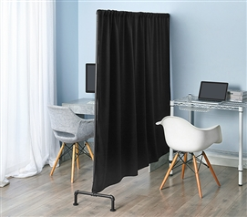 Don't Look At Me - Pipe Style Privacy Divider - Black Frame
