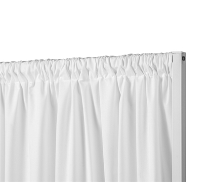 Privacy Room Divider Fabric - Farmhouse White (Fabric ONLY)