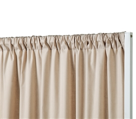 Privacy Room Divider Fabric - Sepia Beige (Fabric ONLY)