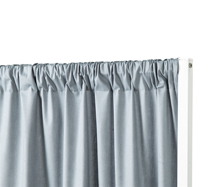 Privacy Room Divider Fabric - Faded Denim (Fabric ONLY)