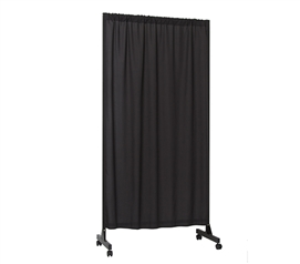 Don't Look At Me - Partial Room Divider - Black Frame