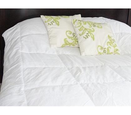 Cotton Snowflake Down Alternative Comforter For College