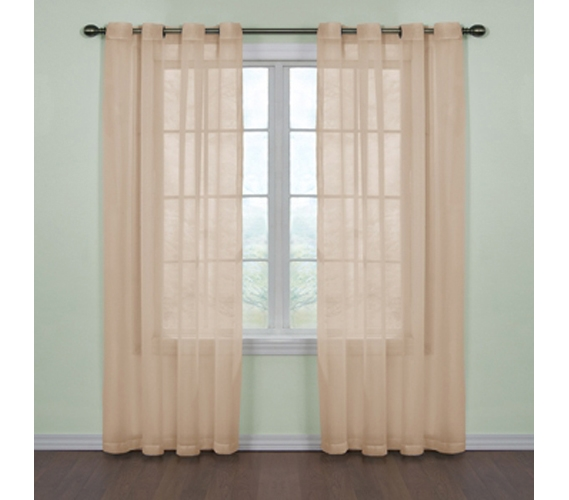 Fresh Scent College Curtains Tan Dorm Decor College Room