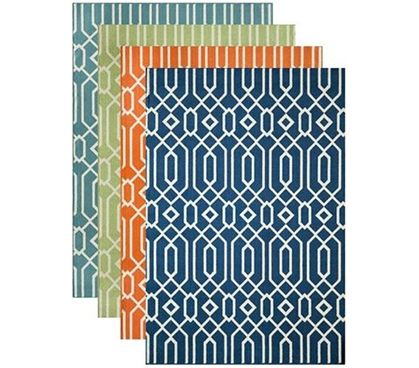 Add A Cool Rug For College - Felipe Dorm Rug - Decorate Your Dorm Room
