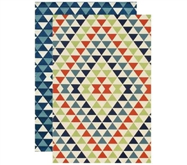 Rugs Add Color And Style - Tetra Dorm Rug - Decor For Your Dorm Room