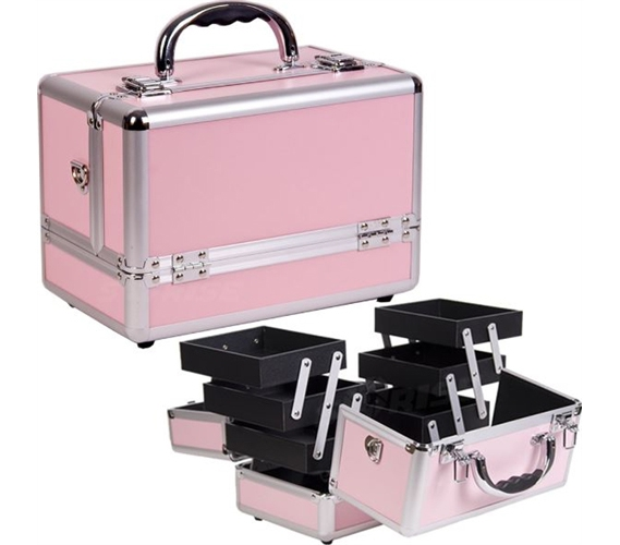 College Girl Cosmetic Case Pink Dorm Room Products