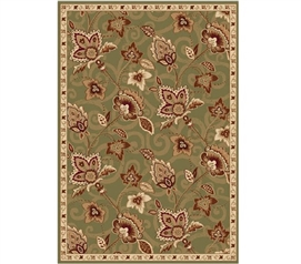 Dorm Room Decorations Chelsea Dorm Rug - Green and Gold Dorm Area Rug