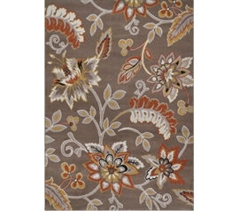 Elle Dorm Rug - Taupe Dorm Room Decorations