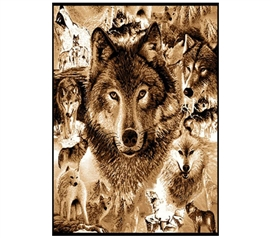 Wolf Pride College Dorm Room Rug Dorm Decorations for College