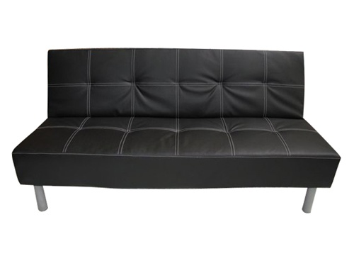 Black College Futon - Dorm Furniture